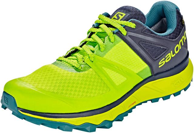 Salomon Trailster GTX Shoes Herren acid limegraphitehydro.
